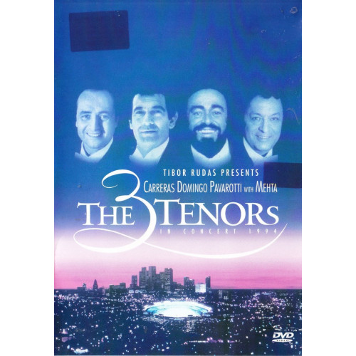DVD - 3 Tenors - Carreras - Domingo - Pavarotti with Mehta - In concert 1994