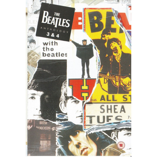 DVD - Beatles the - Anthology 3 & 4 - With the Beatles
