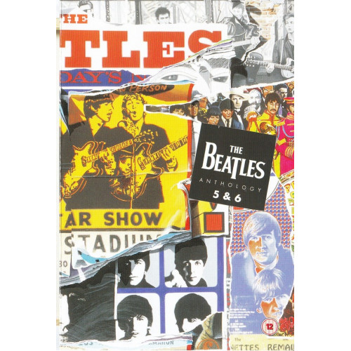 DVD - Beatles the - Anthology 5 & 6
