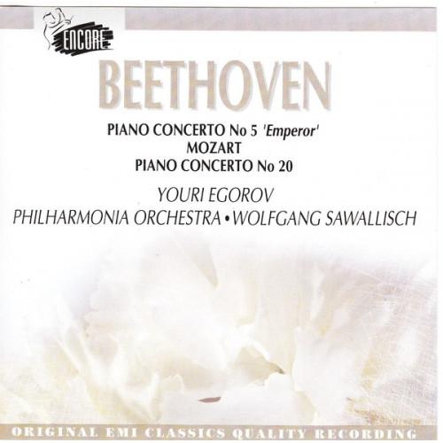 Beethoven - Piano Concerto No 5 - Mozart No 20 - Wolfgang Sawallisch