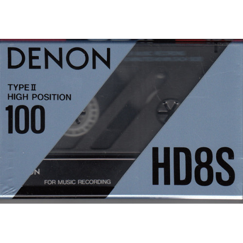 ΚΑΣΣΕΤΑ DENON -  HD 8S - Digital master High bias/type II - 100ρα