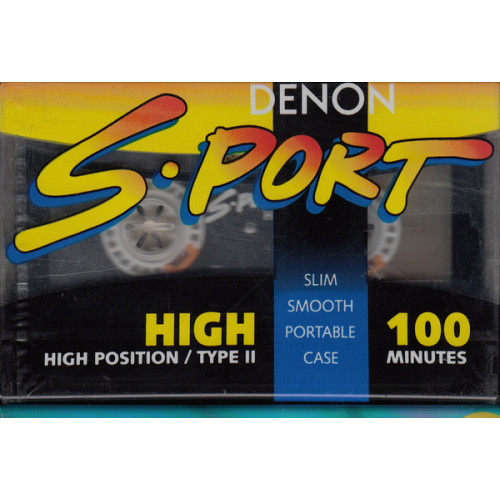 ΚΑΣΣΕΤΑ DENON -  S-SPORT- High position/type II - 100ρα