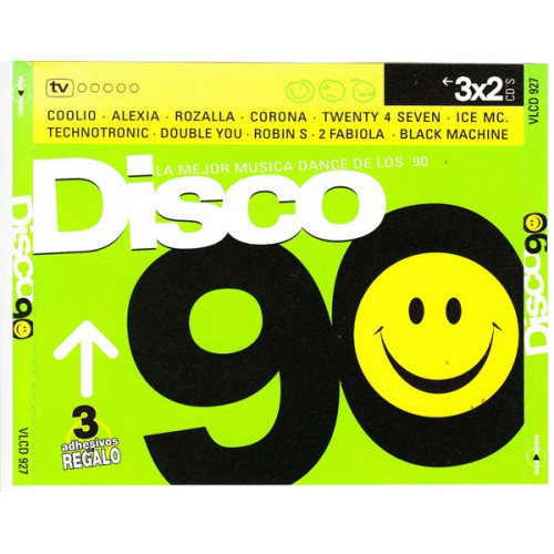 Disco 90 - La mejor musica dance of los 90 ( 3 cd )