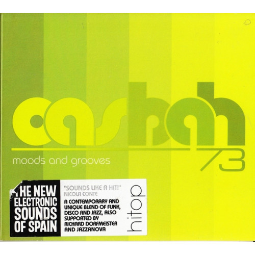 CASBAH 73 - MOODS AND GROOVES ( THE NEW ELECTRONIC SOUNDS OF SPAIN )