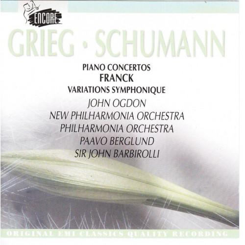 Grieg - Schumann - Piano Concertos - Franck Viriations Symphonique