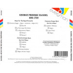 Handel - Music for the Royal Fireworks Concerto Grosso Op. 6 Nos 3 & 4
