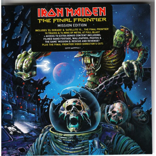 Iron Maiden - The final frontier ( Mission Edition )