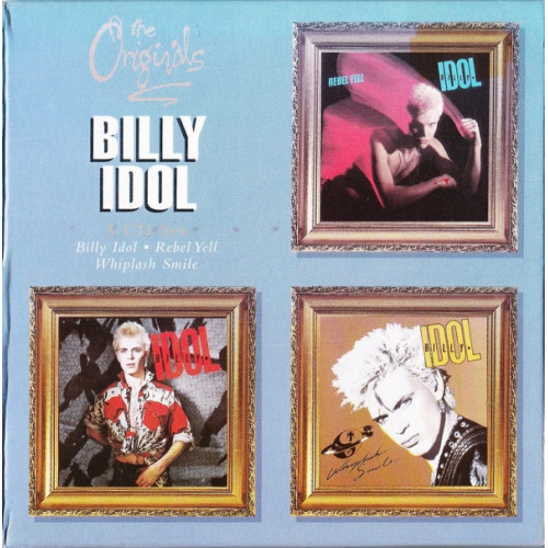 Idol Billy - Billy Idol / Rebel Yell / Whiplash Smile ( 3 cd )