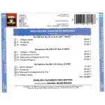Mozart 91 - Symphonies 31 , 39 & 40 - Daniel Barenboim ( EMI )