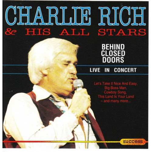 Rich Charlie & His all Stars - Behind closed doors Live in concert ( Success Records )