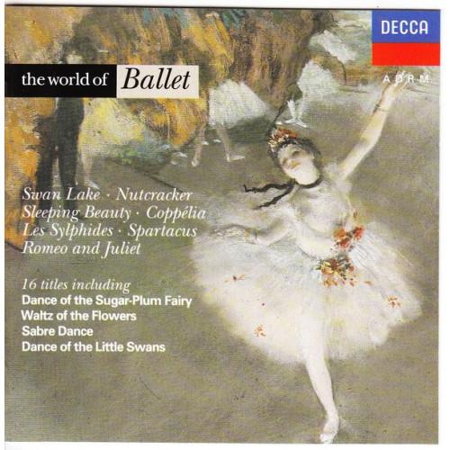 World of Ballet - Swan Lake - Mutcracker - Coppelia ( Decca )